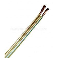 Cablu difuzor cu izolaţie din PVC LFZ-XY 2 x 1,5 transparent Schrack XC03030117