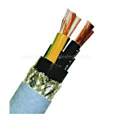 Cablu ecranat izolaţie PVC pentru motoare SLCM-JZ 4 x 1,5 gri 0,6/1 KV Schrack XC810101