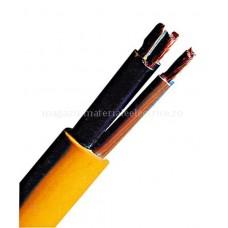 Cablu flexibil, PVC, pentru şantiere XYMM-J 4x1,5 K35 500m galben Schrack XC061104D