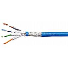 Cablu S/FTP Cat.7, 4x2xAWG23/1, 1.000Mhz, LS0H, 40%, albast Schrack HSEKP423HB