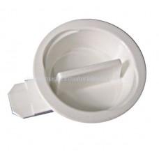 Zăvor plastic alb, (complet) pt. cofrete BK07... BK077005-- Schrack Romania