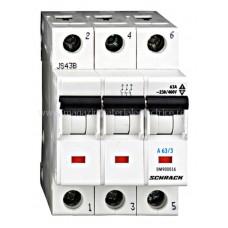 Comutator modular 3poli, 63A BM900016-- Schrack Romania