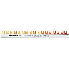 Baretă cu contacte furcă, 10 mm², L1/L2/L3/N, 4 poli, 56UH BS990121-- Schrack Romania