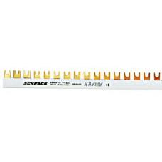Baretă cu contacte furcă, 16 mm², L1/L2/L3/N, 4 poli, 56UH BS990122-- Schrack Romania