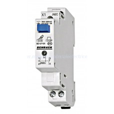 Buton modular cu reţinere şi LED, 2ND, 230VAC BZ117121-- Schrack Romania