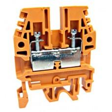 Clemă de fază, conex. cu şurub, CBD-4, portocaliu, 0,5-4 mm² IK108007-- Schrack Romania