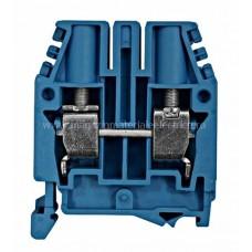 Clemă de nul, conex. cu şurub, CBC.16 albastru, 1,5-25 mm² IK111016-- Schrack Romania