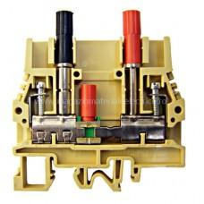 Clemă de curent tip SCB.6/CD 0,5-10 mm² cu fişe de testare IK170006-- Schrack Romania