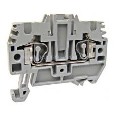 Clemă de fază, conex. elastică, HMM.2, gri, 0,2-2,5 mm² IK200002-C Schrack Romania