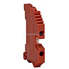 Clemă de fază, conex. cu şurub tip AVK 2,5, roşu, 2,5 mm² IK608002-- Schrack Romania