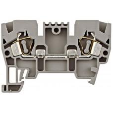 Clemă de fază, conex. elastică, YBK 6, gri, 0,5-6 mm² IK610006-- Schrack Romania