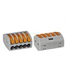 Clemă de conexiune 5 x 0,08-4 mm² IKW22205-- Schrack Romania