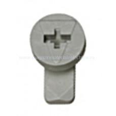Zăvor rotativ gri pentru mască din plastic IL902260-- Schrack Romania
