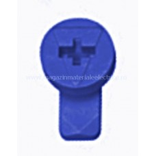 Zăvor rotativ albăstru pentru mască din plastic IL902262-- Schrack Romania