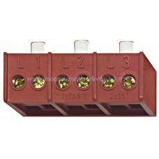 Clemă derivaţie 3 poli, 3x2x35mm² pentru TYTAN II şi CORON IS504722-- Schrack Romania