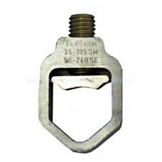 Clemă jugulară în formă de V, măr. 1,2,3, VK400, S=35-185mm² IS505200-- Schrack Romania